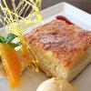 クラテリーノ - 料理写真:イタリア米のミルクケーキ 450円