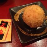 天串 - アイスクリームの串揚げ