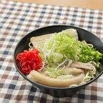 めし処 月の魚 - 三枚肉塩そば