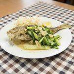 めし処 月の魚 - 魚バター焼き