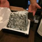 湘南ファーム - 作る過程で炭を塗してあるんですって。見た目よりあっさり。