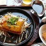 はやしや - 豆腐ステーキ590円