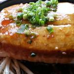 はやしや - 豆腐ステーキアップ