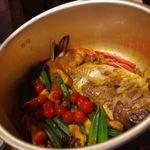 マレー・アジアン・クイジーン - Fish Head Curry 魚頭カレー