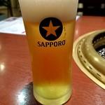 おくう - グラスビール