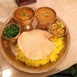 ヒマラヤンビレッジ - ダルバート 野菜カレーで