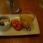 クルミ - ランチの前菜