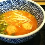 麺屋一燈 - 濃厚魚介つけ麺のつけ汁
