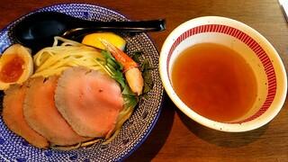 だしと麺 - すっごいズワイ蟹の冷やしつけ麺