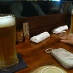 静音 - 生ビール