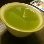まるさ水産 - 冷たいお茶(2017.5)