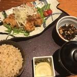 67373510 - 若鶏の唐揚げ油淋鶏ソース御膳