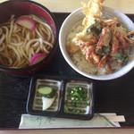 竹庵 - 天丼ランチ(810円)