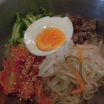 67374480 - すーぷ房くだら 湊川店 ピビン冷麺(湊川)
