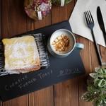 クリエイティブ フレンチトースト バイ ルーム - 【店内限定】焼きたてとろけるフレンチトースト