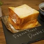 クリエイティブ フレンチトースト バイ ルーム - 【店内限定】焼きたてとろけるフレンチトースト ダブル
