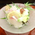 天ぷら 割烹 昌 - お造り