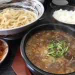 八段 - 濃厚つけ麺 900円 (ご飯 : 夜8時まで無料)