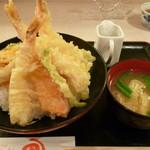 天乃江ダイニング - 海老天丼