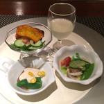 67377316 - 前菜は普通に美味しい。神戸牛はちょっと固かったです