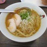 濃厚鶏白湯ラーメン ミスターチキンハート - 煮干し鶏そば2017.05.22