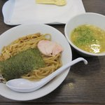 濃厚鶏白湯ラーメン ミスターチキンハート - 濃厚鶏つけ麺(大盛り)2017.05.22