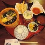 67380110 - 鯛めし天ぷらランチ