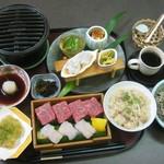 閑清居 - 華膳「活はも」¥1,780 国産はも、黒毛和牛が食べられる、贅沢なお膳です。