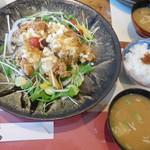 梅乃食堂 - 料理写真:チキン南蛮定食¥1000-