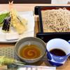 蕎麦音 - 料理写真:海老天せいろ¥1,458