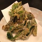 一心 - 天然山菜天ぷら