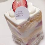 67383635 - 完熟いちごのショートケーキ