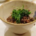鮨 心白 - 猪の混ぜご飯