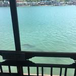 魚信旅館 - 窓からの尾道水道。