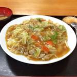北方園 - 中華丼  600円