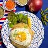 香味的茶楼小町 STANLEY MARKET - 料理写真:一番人気 ラオス焼き飯カオパッ750円