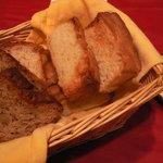 6739075 - パン3種、フォカッチャ、クルミレーズン、ライ麦入り