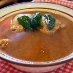 薬膳カリイ本舗 Ajanta - とり(薬膳スープ)