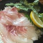 谷町 一味禅 - たい丼(¥900)