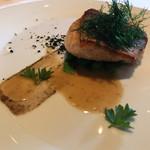 67390964 - 魚料理(ホウボウのポワレ)