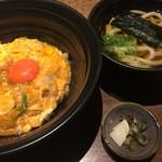 麺匠の心つくし つるとんたん - 親子丼(¥1180)