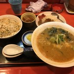 中華のんき - ごま味噌ラーメンセット