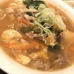 河伯菜館 - チゲ麺