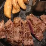 銀座じゃのめ - 牛サーロインステーキセット