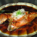 いづみや - 料理写真:金目鯛の煮つけ