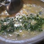 酒井 - 水炊き後の雑炊