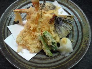 いづみや - 天ぷら盛り合わせ