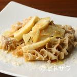 ペルバッコ イタリアーノ - 季節の食材を堪能する『トリッパと筍の煮込み ごく軽いトマトソース』