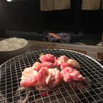 マルイチ食肉センター - 七輪焼きですが、煙くなりません(^^)
