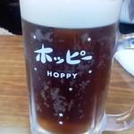 67403421 - 「樽生ホッピー(黒)」(550円)